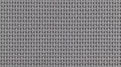 Closeup of gray solar screen fabric