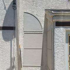 solar screens half round and rectangle windows