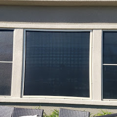Oversized picture window with heavy duty frame