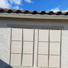 stucco solar screens adobe frames