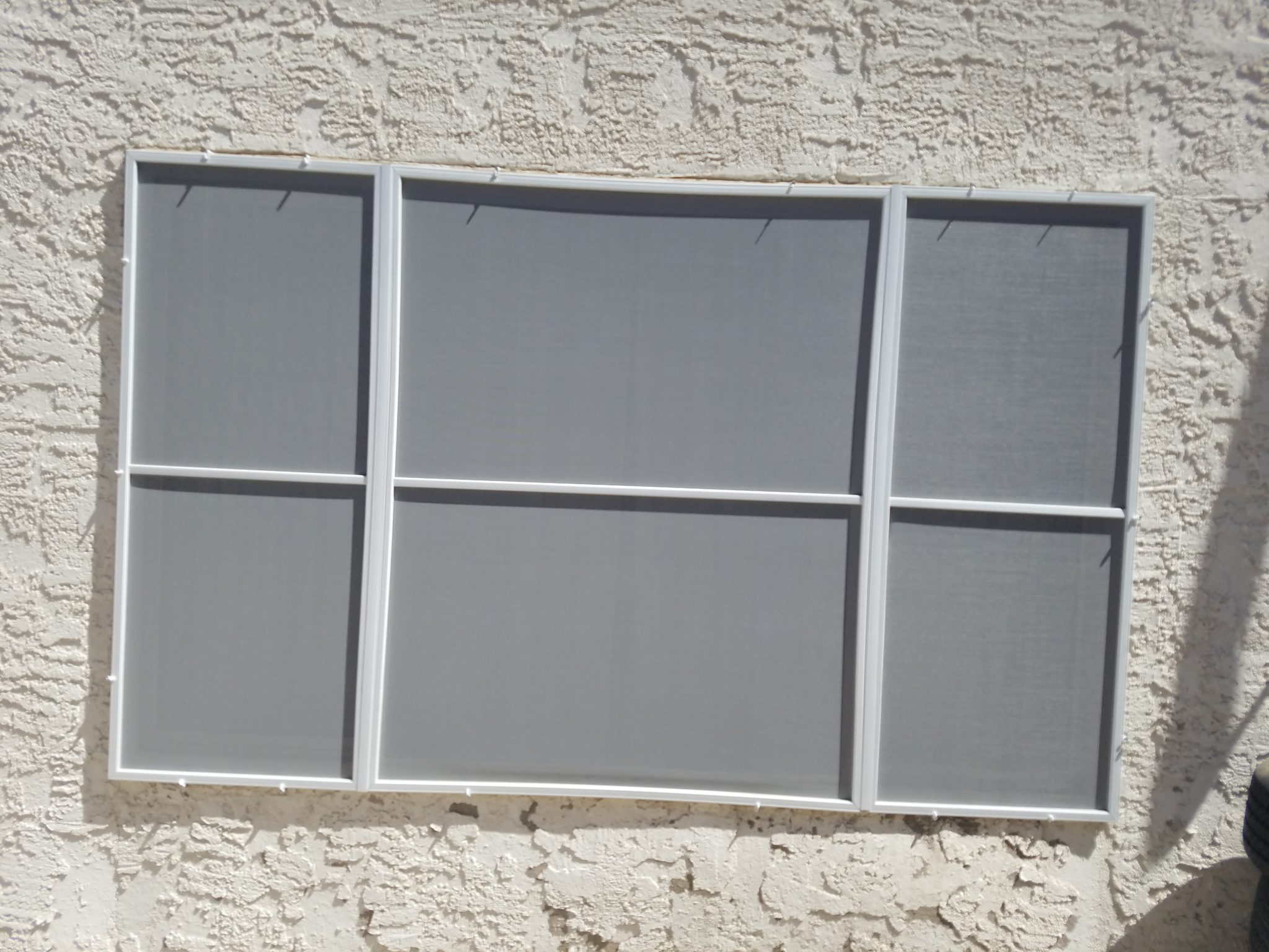 picture window and casements after