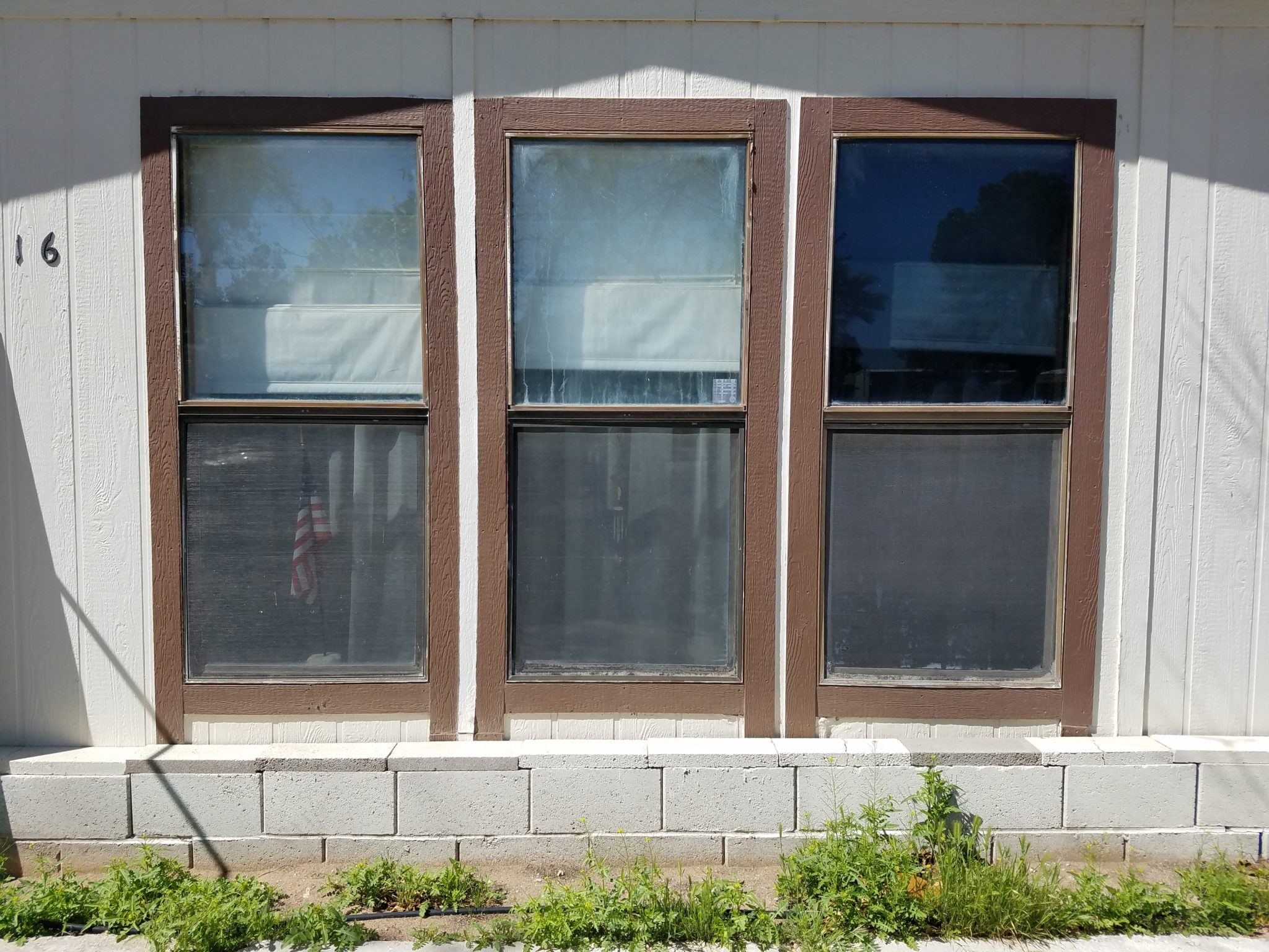3 double-hung windows before