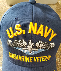 US Navy Submarine Veteran ballcap