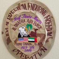 Ballcap USAF Saudi hat