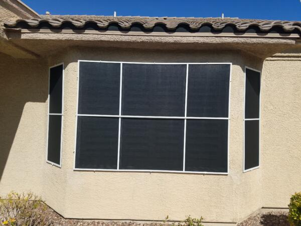 3 solar screens - multipane