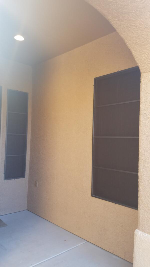Black solar screens black frames
